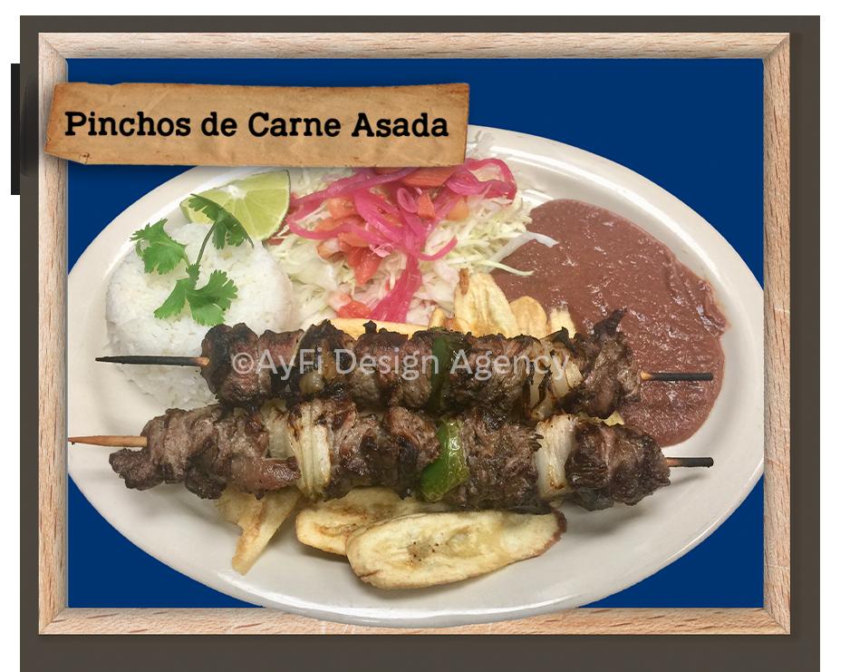 Pinchos de Carne Asada